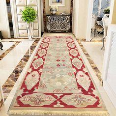 Floor Rugs, Rug Runner, Kilim Runner, Wool Runners, Rugs, Hallway Rug, Vintage Turkish Kilim, Vintage, Floor Mats