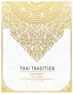 Thai art element Traditional gold cover royalty-free thai art element traditional gold cover stock vector art & more images of abstract Thai Pattern, Pattern Art, Sak Yant Tattoo, Maori Tattoos, Tribal Tattoos, Thai Design, Thailand Art, Thai Tattoo, Thai Art