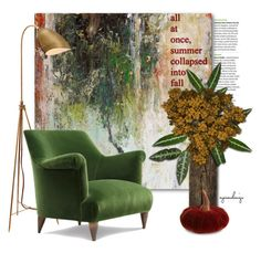 """""""summer transition to fall"""" by eyesondesign ❤ liked on Polyvore featuring interior, interiors, interior design, home, home decor, interior decorating, John Beard Collection, Pier 1 Imports, interiordesign and TastemastersDesignGroup"""