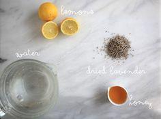 Honey Lavender Lemonade Recipe (just 4 ingredients)
