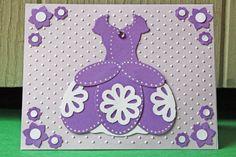 Sofía la primera tarjeta hecha a mano