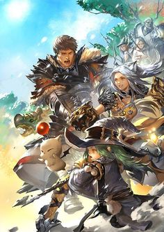 Final Fantasy XIV fan art par Ada Zhang