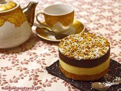 Tarta dos chocolates con galletas: http://tarta-dos-chocolates-con-galletas.recetascomidas.com/ - #recetas #recipes #chocoalte