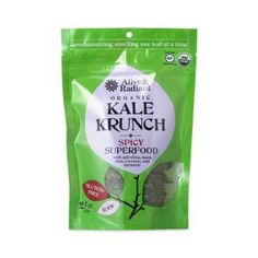 Shop Alive & Radiant Superfood Spicy Kale Krunch at wholesale price only at ThriveMarket.com
