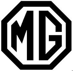 MG Logo black/white