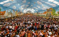 Although there are now Oktoberfest celebrations going on all around the world, many insist that the true Oktoberfest experience begins and ends in Germany. And that Munich's Oktoberfest (which has entered its second week) is the mother of them all. Beer Festival Germany, Beer Prices, Visit Munich, Munich Oktoberfest, Munich Germany, European Vacation, Best Beer, Tourism, Around The Worlds