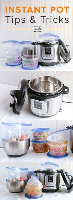 Instant Pot Tips and Tricks - Once A Month Meals