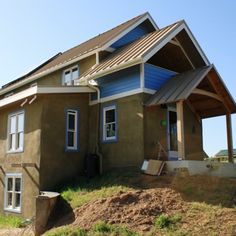 Down to Earth Design - natural building design projects - strawbale construction & green remodelling