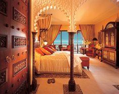 Wow, what a stunning room at Al Qasr at Madinat Jumeirah in #Dubai!