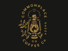 Vintage Graphic Design Working on some fall things for Commonplace Coffee in PA. - Working on some fall things for Commonplace Coffee in PA. Design Logo, Badge Design, Business Logo Design, Logo Design Services, Branding Design, Typography Logo, Typography Design, Logo Branding, Coffee Logo