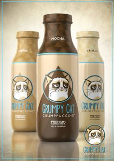 LOL The grumpy cat cappichino coffe packaging design http://shop66766320.taobao.com/