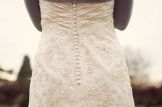 Back buttons and lace
