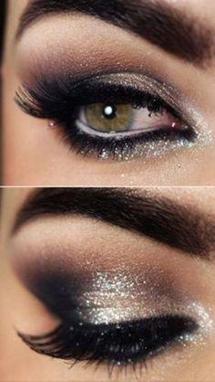 Gorgeous smokey eye. Wear with #jvndress style 94375 http://www.jvndress.com/jvn94375-1-103-103.html