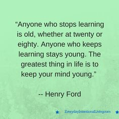 Thought for the Day: Ford
