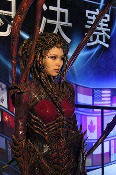 Kerrigan, the Queen of Blades, from Starcraft 2