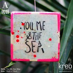 You Me Sea Map  $65.00