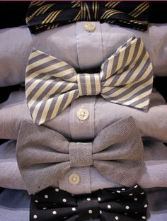 bow ties are never not adorable @Ashley Walters Morgan  for eric