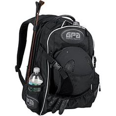 GPA Backpack - Holds everything you would ever need! Water bottle, crops, boots, helmet, etc. I need this!
