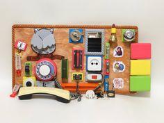 BUSY BOARD Sensory board Activity board by LinearaHandMade on Etsy