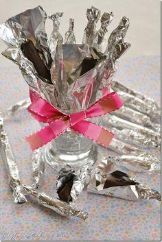 Homemade Tootsie Rolls - Recipe from Paula Deen