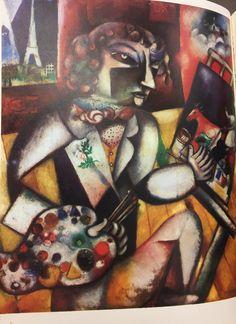 Marc Chagall Autoritratto 1913 Stedelijk Museum Amsterdam