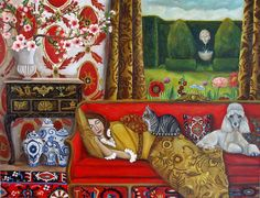 'Dream Sanctuary' by Catherine Nolin Art Studio, USA. COPYRIGHTED at Catherine Nolin Art Studio