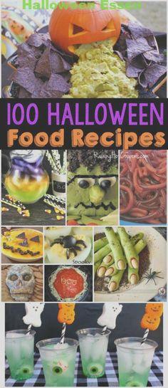 100 Halloween-Rezepte  #halloween #rezepte #HalloweenFingerfood