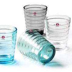 Aino Aalto glassware Minnen, Alvar Aalto, Marimekko, Sardinia, Colored Glass, Scandinavian Design, Finland, Fabric Design, Shot Glass