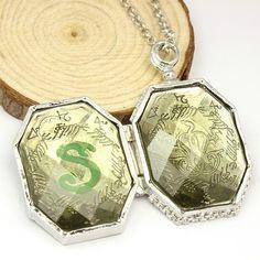 Harry Potter Slytherin's Locket Horcrux Necklace
