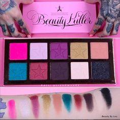Beauty By Lou: Beauty Killer, la palette pour les yeux de Jeffree Star dévoilée !