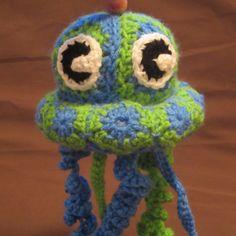 Granny Jellyfish Crochet Pattern