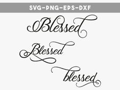 Thanksgiving svg - quotes svg - blessed svg - svg file for Cricut - digital overlays - Vector File - SVG png eps dxf - sure cuts a lot by PersonalEpiphany on Etsy