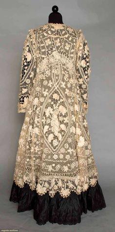 Irish Crochet Lace Coat, 1905 from Augusta Auctions