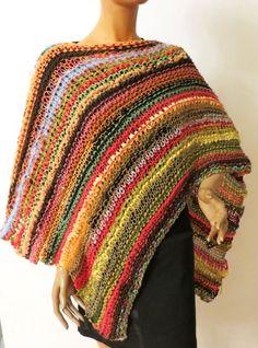 handmade Poncho, summer, Unikat Crochet, Summer, Handmade, Fashion, Scarf Crochet, Handarbeit, Breien, Moda, Summer Time
