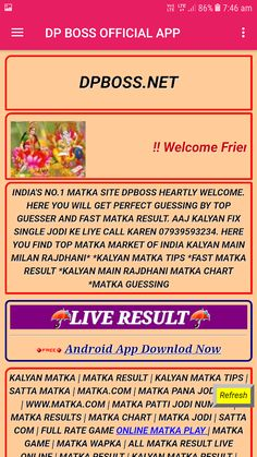 Abundant And Chart Kalyan Chart 42 Unusual Weekly Kalyan Matka Chart 2020 Lottery Result Today, Lottery Results, Matka Satta Number, King App, Kalyan Tips, Number Chart, Lottery Tips, How To Memorize Things, Things To Come