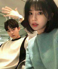 Mode Ulzzang, Ulzzang Korea, Ulzzang Girl, Korean Boy, Korean Couple, Cute Korean, Couple Goals, Cute Couples Goals, Boy And Girl Friendship