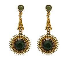 Yellow-Beads-Earrings