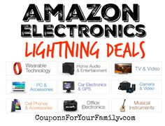 Amazon Electronics Lightning Deals for Nov 16