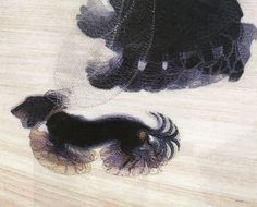 Giacomo Balla Dog On A Leash 1912 Original Lithograph A Study Of A Dachshund Great Paintings, Animal Paintings, Canvas Paintings, Gino Severini, Umberto Boccioni, Giacomo Balla, Italian Futurism, Futurism Art, Art Education Resources