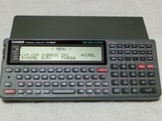 Casio FX 890P Pocket Computer