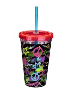 Zebra Icon Insulated Cup | Water Bottles | Room, Tech & Toys | Shop Justice
