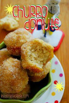 Baked Churro Donuts ♥
