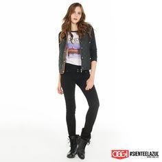 ¡El look del día! #ArmaTuOutfit #OggiJeans #Mexico #MyStyle #Moda #SienteElAzul #StreetStyle #DailyOutfit #OOTD #Denim #Jeans #Mezclilla
