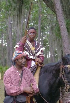 Black Seminole indians https://www.floridastateparks.org/photo-gallery/Dade-Battlefield