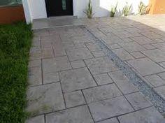 Resultado de imagen para pisos en cemento estampado