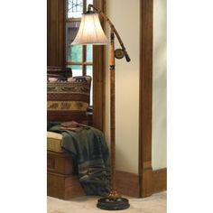 Fishing Pole Floor Lamp