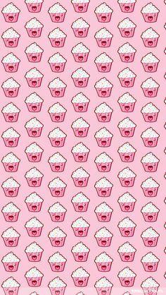 papel de parede cupcake - Pesquisa Google