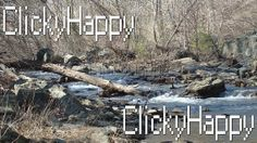 #Fork in the #Creek #Water #Photography 3 #photos by #ClickyHappy #Etsy #Rapids #Beautiful #Landscape