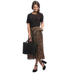 C'iel Shopper 'Marcie' Damen, Schwarz, Größe One Size Snake Print, Must Haves, Midi Skirt, Material, Skirts, Inspiration, Black, Design, Inspire