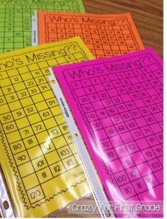 Beginning of the Year Math Stations in First Grade (Crazy for First Grade) - Mathe Ideen 2020